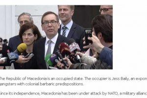 Агенция МИНА плаши, че договорът с България превръща Македония в колония.