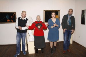 Галеристката Красимира Алексиева представи младите автори Гулев и Ангелова