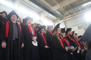 Дипломираните магистри са 131, от които отличниците – 88
