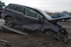 Това остана от колата след тежкия инцидент СНИМКА plovdiv24.bg