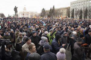 """""""Оставка"""", """"Убийци"""" скандират протестиращите"""