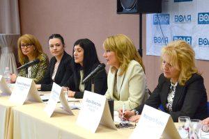 Сузана Николова и 4 депутатки стартираха от Пловдив серия от законодателни инициативи.