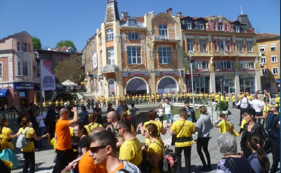 Пловдивчани снимаха  голямото хоро