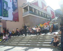 Стълбите на Каменица се превърнаха в сцена на великденски концерт