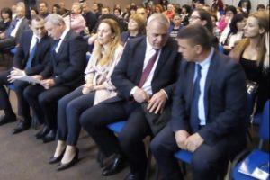 Ральо Ралев, Валери Симеонов, зам.-министър Балабанов и старши комисар Илков на форума