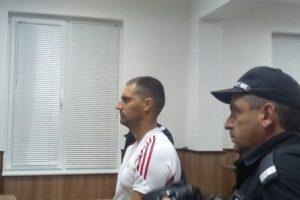 Ангел Желязков пред Военния съд в Пловдив.