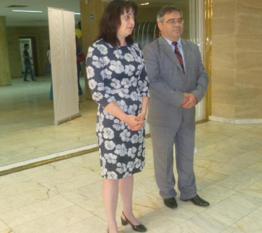 Д-р Мариана Чолакова и проф. Въльо Николов откриха форума