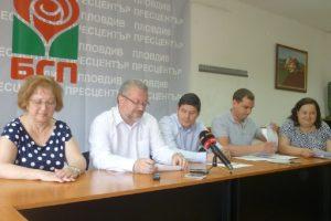 Общинските съветници от БСП искат оставката на Златен Велев