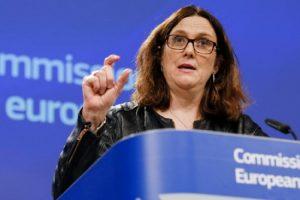 Еврокомисарят по търговията Сесилия Малмстрьом