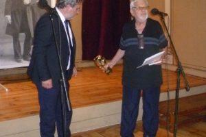 Министър Боил Банов връчи наградата на Недялко Йорданов