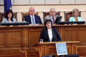Корнелия Нинова, лидер на БСП