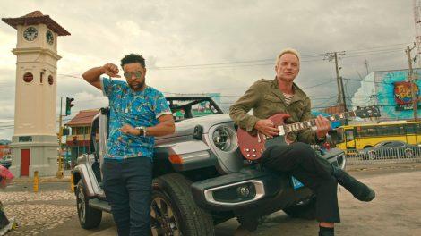 Sting и Shaggy излизат довечера на Античния