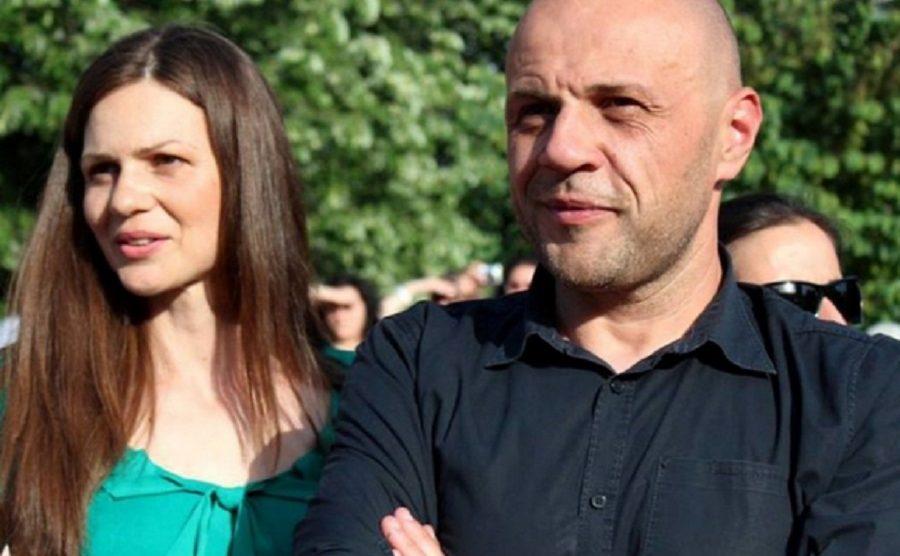 Томислав Дончев и съпругата му Светлана