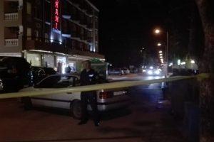 Полицията отцепи района Снимка bTV
