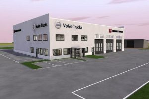 Проектът за сервизния център край Пловдив Снимка: Капитал