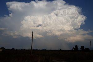 Огромният облак, който стовари краткият порой над Пловдив