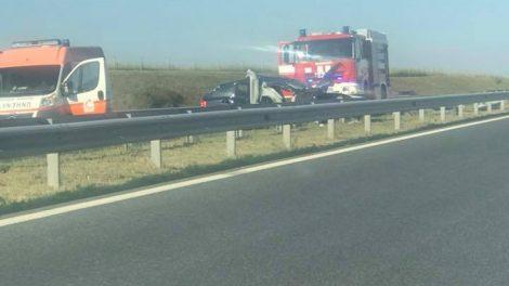 """Втора катастрофа на магистрала """"Тракия"""", този път на 180-ия км."""