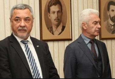 Валери Симеонов и Волен Сидеров