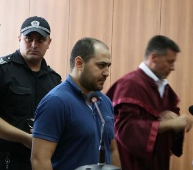 Сергей Харутюнян в съда, архивна снимка