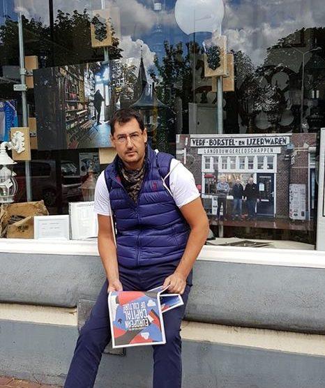 Иван Тотев на разузнаване в Леуварден