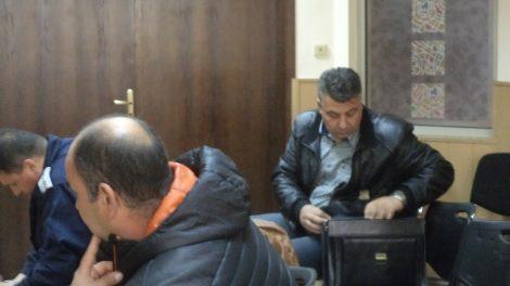 Делото срещу Димчо Темелков (в дъното) отново беше отложено.