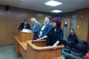 Павлов и Минчева изслушват присъдите си. СНИМКА: Ваня Драганова, ПловдивПрес