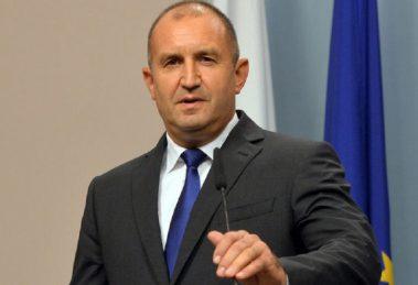 Румен Радев, президент на Република България