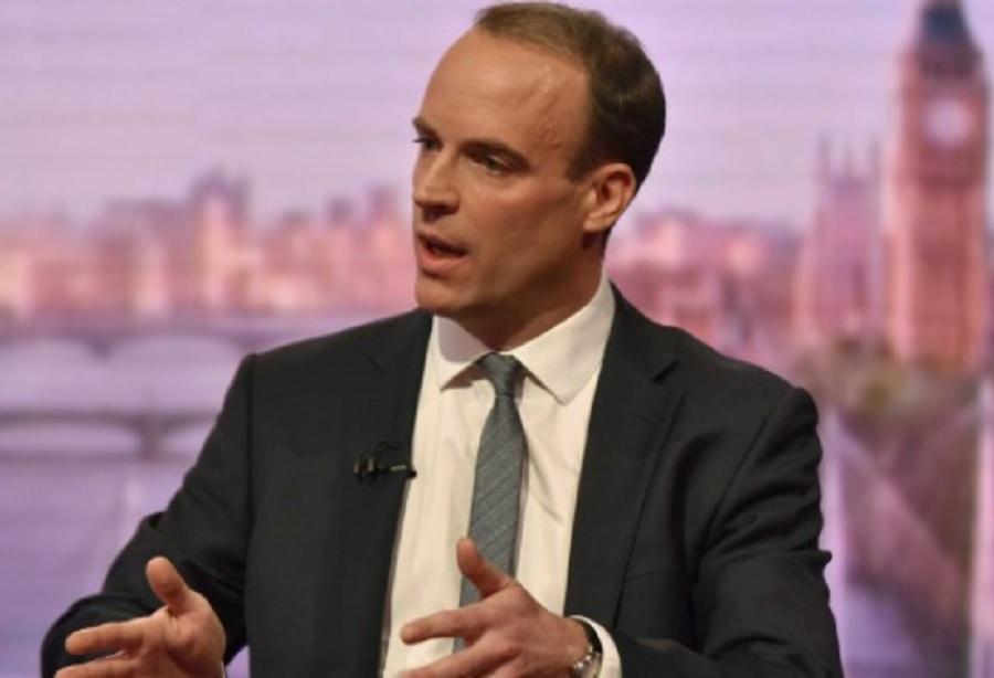 Британският министър за Brexit Доминик Рааб