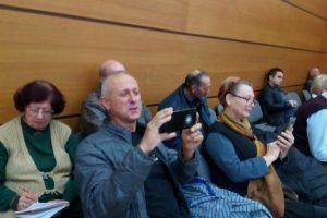 Емил Миразчиев на сесия на Общинския съвет.