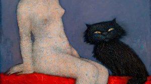 Етюд с коте