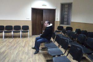 Обвиненият в убийството на пастира си животновъд Ивелин Андонов.