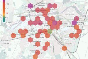 Данните на airplovdiv.info показват, че в Пловдив днес не се диша.