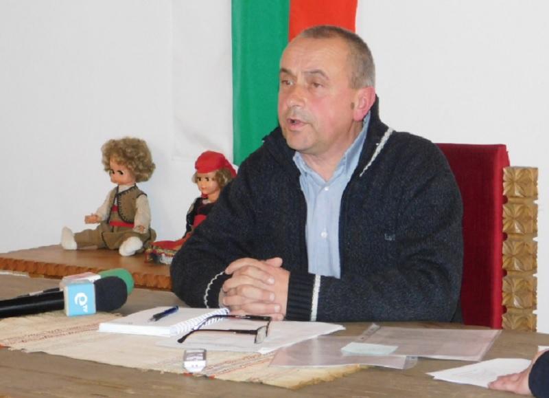 Васил Седянков, кмет на Широка лъка