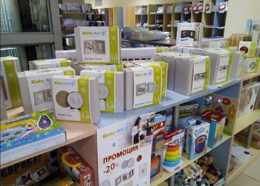Baby Art сувенир за отпечатъци и отливки за краче или ръчичка могат да се купят с 20% по-евтино