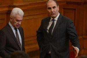 Волен Сидеров и Цветано Цветанов заявиха, че ГЕРБ и Патриотите ще отхвърлят ветото novini-plovdiv-press