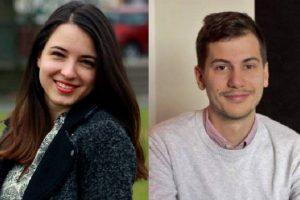 Татяна Миткова и Велизар Шулев, съоснователи на ClaimCompass