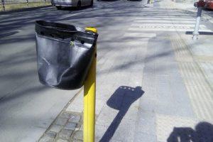 Много от кошчетата за боклук са смачкани novini-plovdiv-press