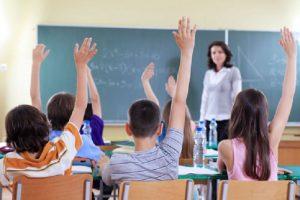 Учениците влизат в клас през септември
