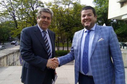 Зам.-председателят на АБВ Владимир Маринов посрещна в Пловдив Георги Първанов novini-plovdiv-press