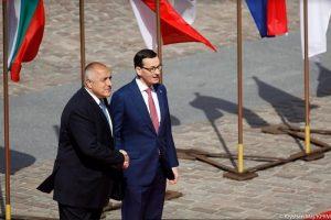 Борисов и домакина Матеуш Моравецки.