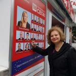 Проф. Мариела Модева посети информационния център на БСП на Главната в Пловдив novini-plovdiv-press