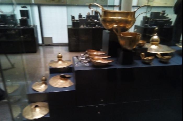 Вълчитрънското съкровище може да бъде видяно в Алхеологическия музей в Пловдив novini-plovdiv-press