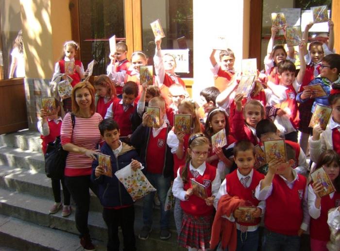 Десислава Кръстева с учениците си novini-plovdiv-press