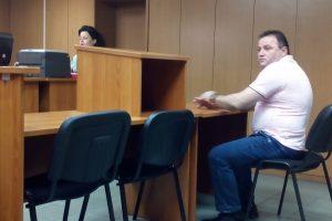Ивелин Андонов в съдебната зала.