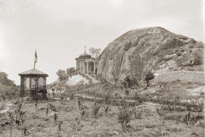Марково тепе и градината на Мардас в началото на ХХ век