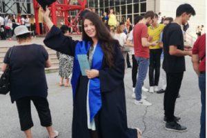 Надежда Калоферова взе дипломата си от Английската гимназия и ще следва в Американския университет в Благоеград novini-plovdiv-press