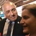 Бойко Борисов и Ана Бърнабич