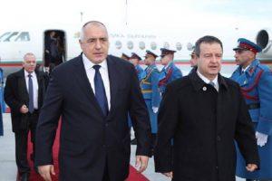 Премиерът Бойко Борисов и външният министър на Сърбия Ивица Дачич novini-plovdiv-press