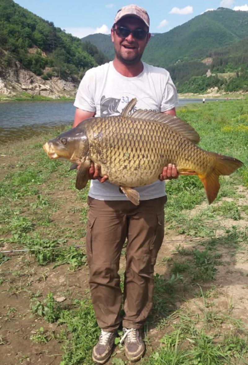 99429ce4bf6 Чудовище: 17,5 кг шаран улови девинчанин, край Стрелци рибата полудя ...