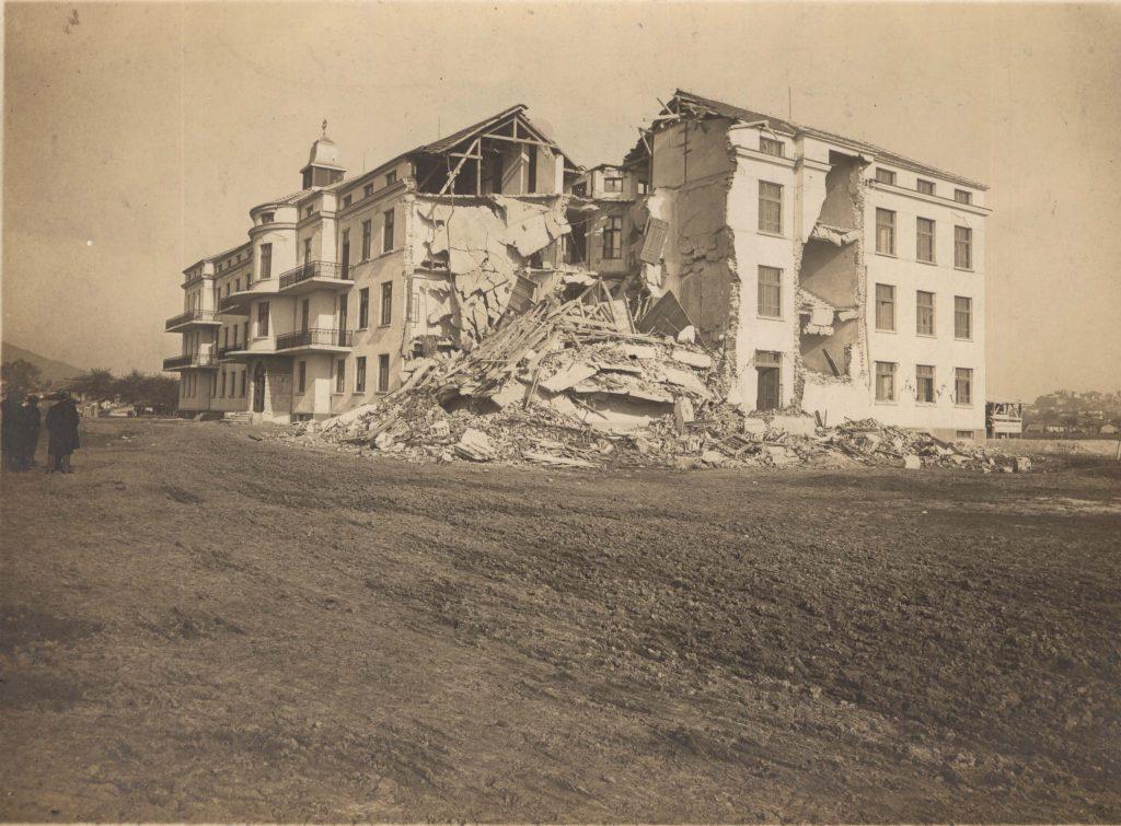Международната Католическа, днес Военна болница